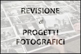 REVISIONE PROGETTO FOTOGRAFICO